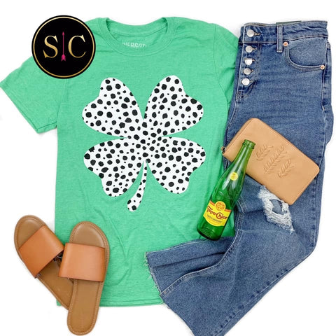 Spotted Clover Tee {Pre-order}