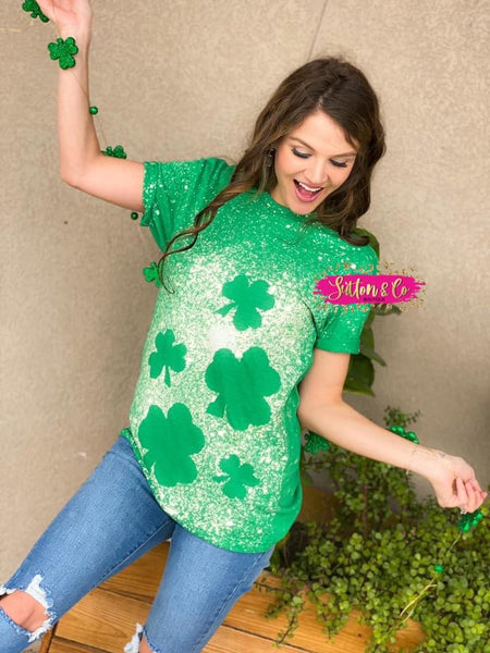 Bleach Clover Tee {Pre-Order} Adult/Child