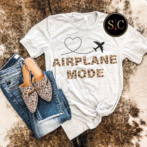 Airplane Mode Tee {pre-order}