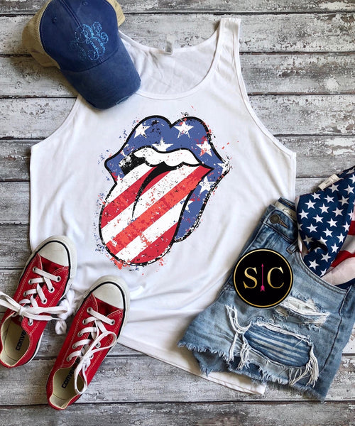 Star Spangled Lips