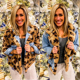 Leopard Denim Reversible Jacket {Pre-Order}