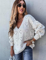 Heart Pointenelle Sweater {Pre-Order}