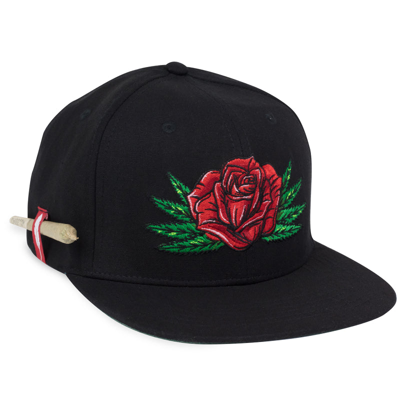 Rose Flatbill Hemp Hat
