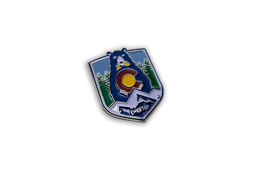 Fishing Bear Hat Pin