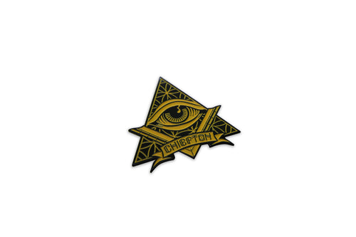 Seeing Eye  Hat Pin