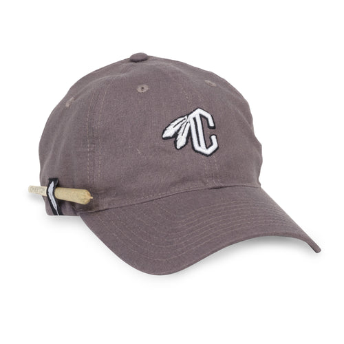 C Feather Dad Hat