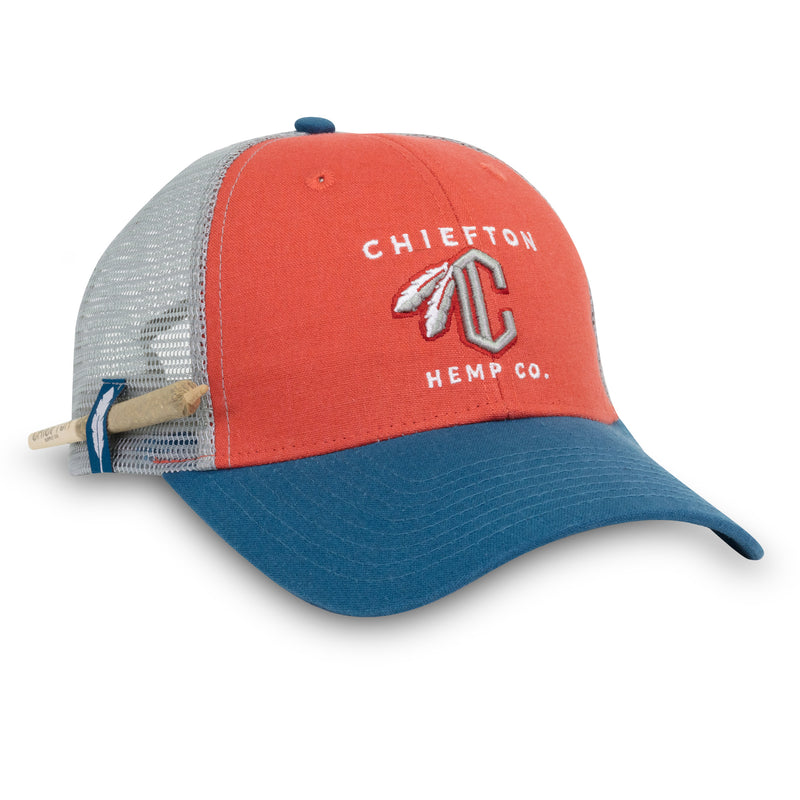 C Feather Meshback Hat
