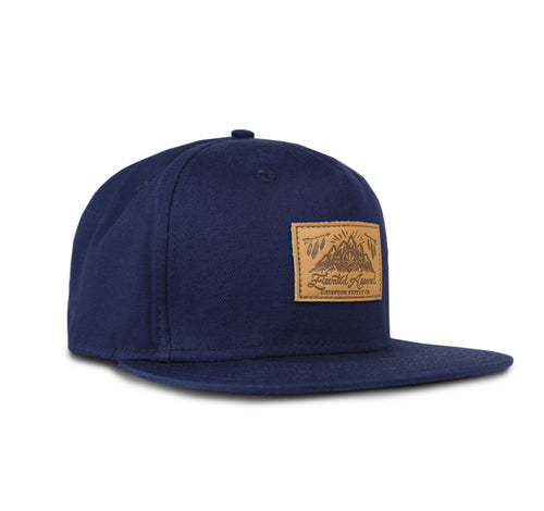Chiefton Leather Patch Hat