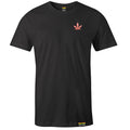 Weed Leaf Embroidered Hemp T-Shirt