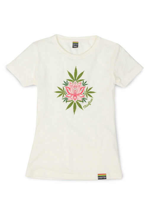 Lotus Bud Hemp T-Shirt