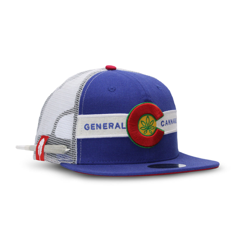 General Cannabis - Hemp Colorado Flag Hat