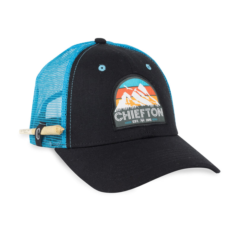 Mountain Made Curve Bill Hemp Hat