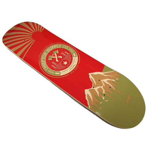 Chiefton X Strive Skateboards: Hatchet Deck