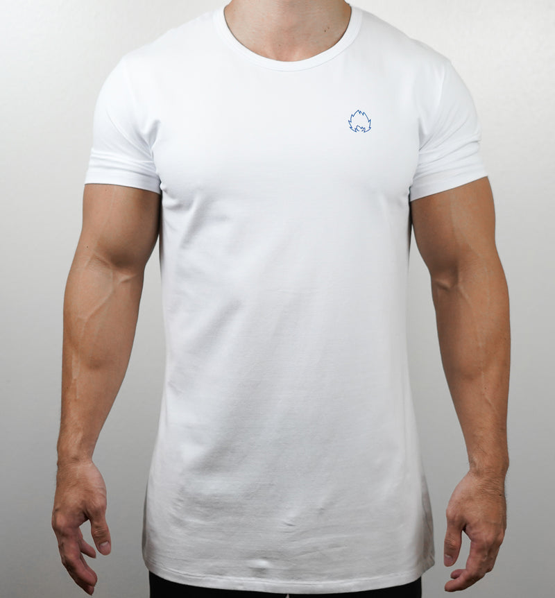 Badge Tee - White