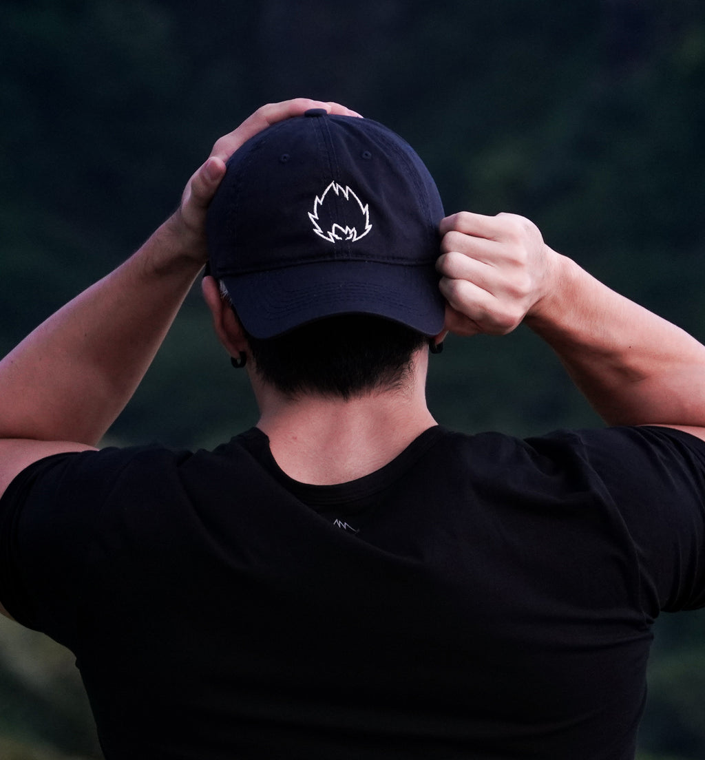 "Goku ""Bad Dad"" Hat - Navy"