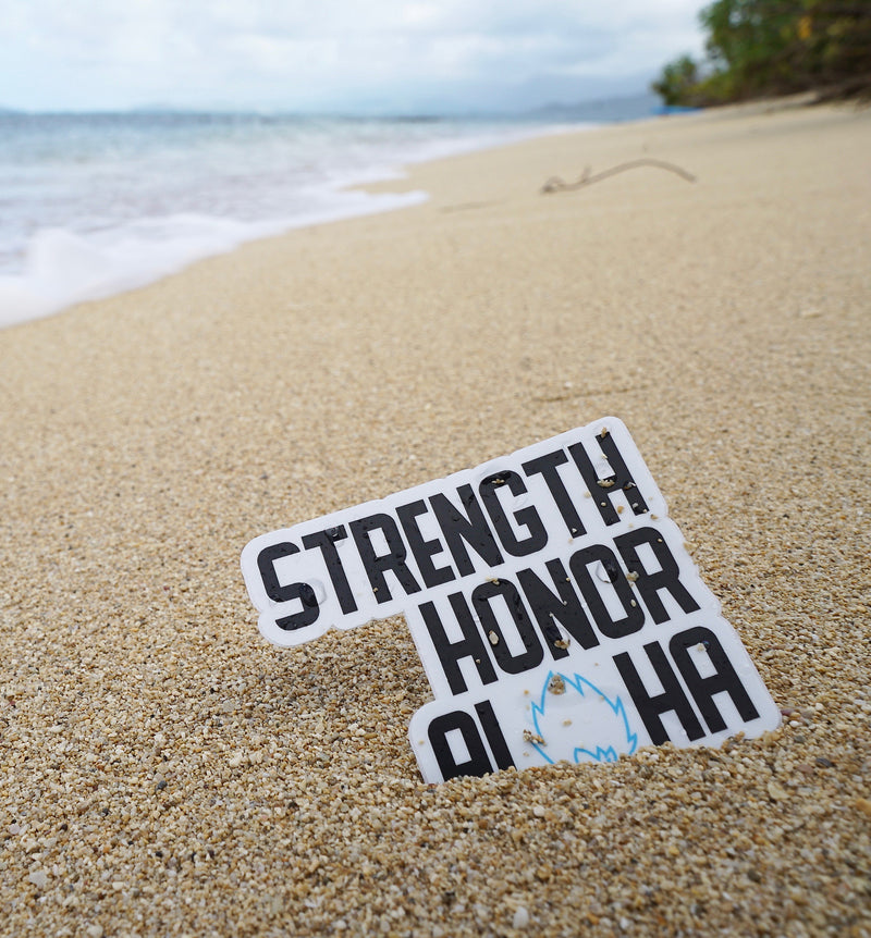Strength Honor Aloha Sticker