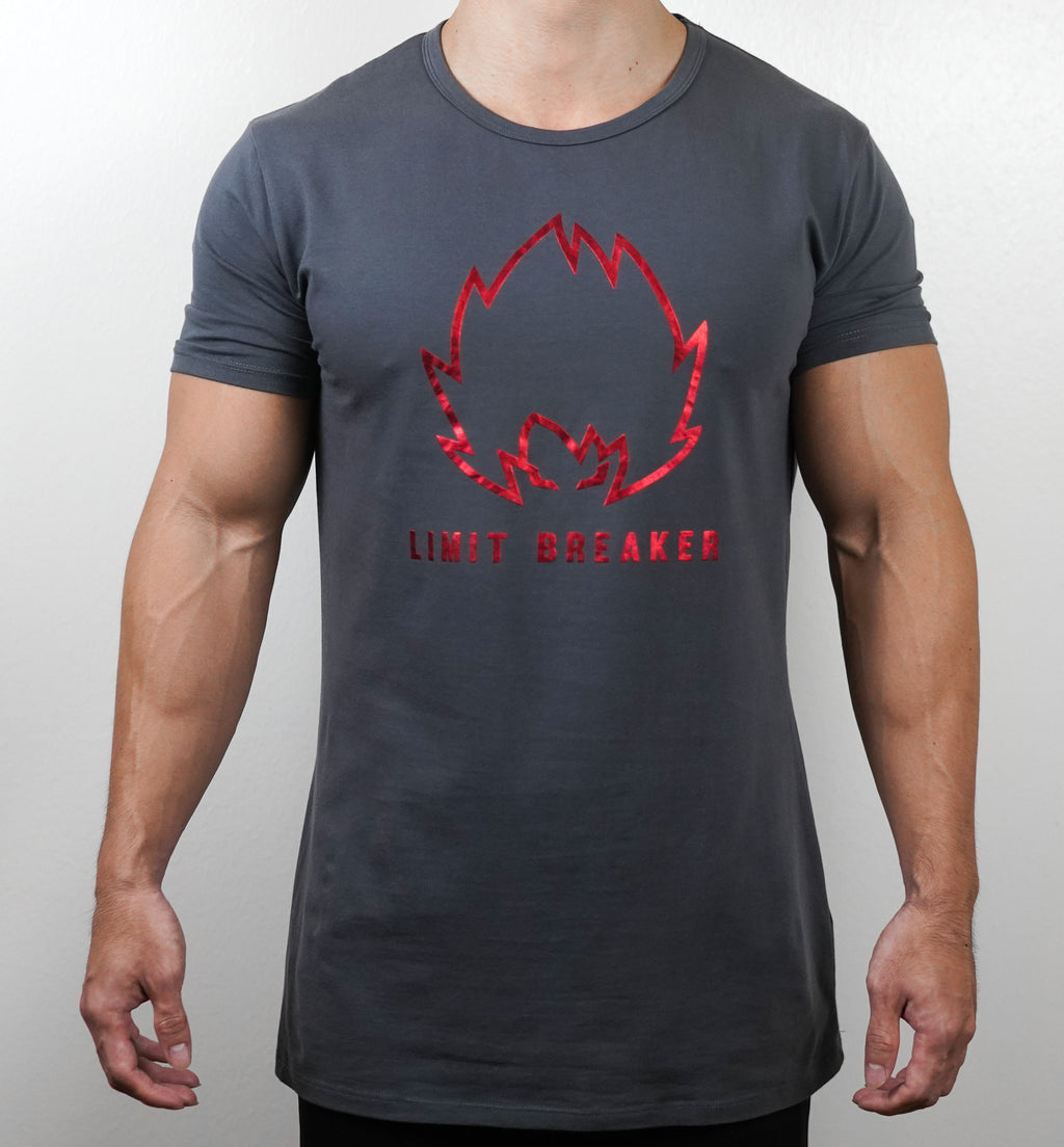 Limit Breaker Tee - Charcoal