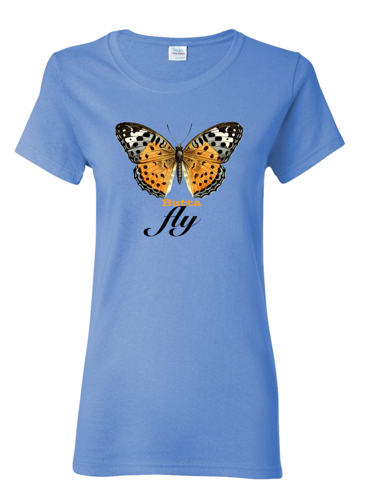 ButtaFly PW2 Women's Blue T-Shirt.
