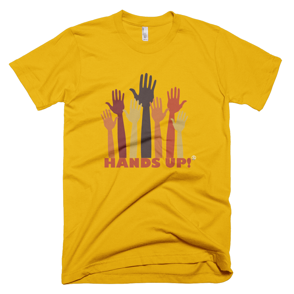 Hands Up PW2 Gold T-Shirt.