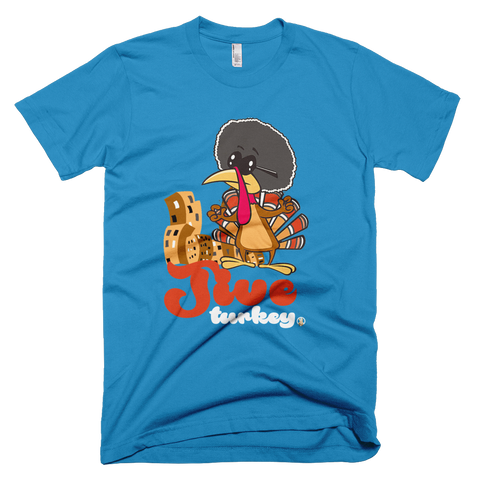 Jive Turkey Teal PW2 T-Shirt.