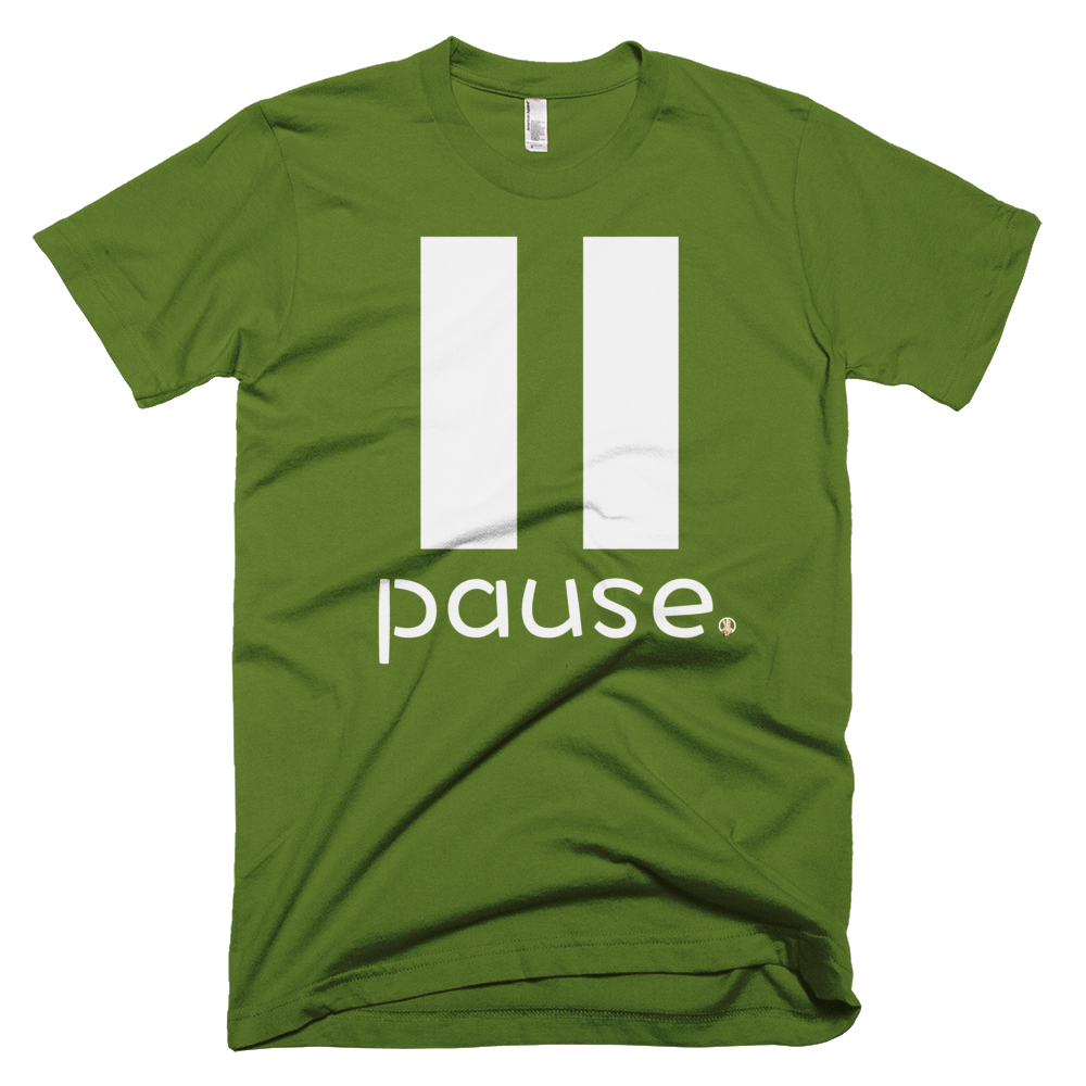 Pause Olive PW2 T-Shirt.