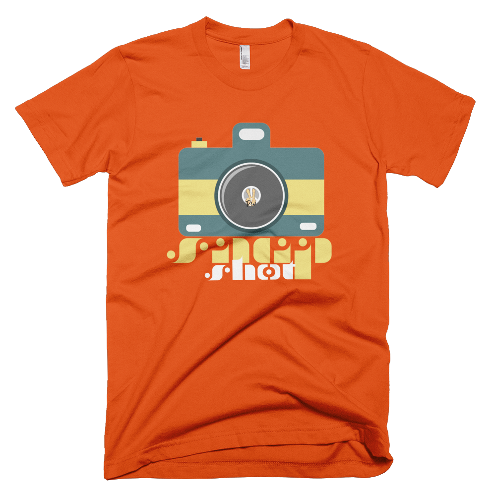 Snap Shot PW2 Orange T-Shirt.