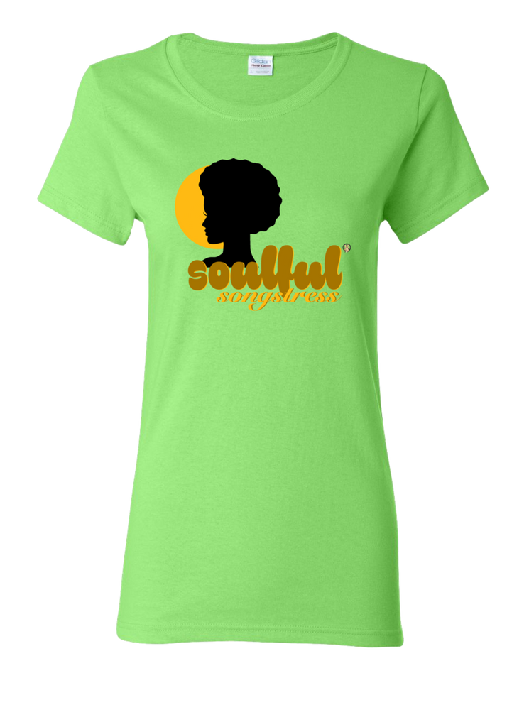 Soulful Songstress PW2 Lime T-Shirt.