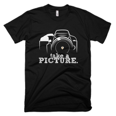 Take a Picture Black PW2 T-Shirt.
