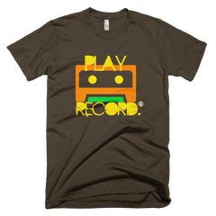 Play Record PW2 Brown T-Shirt.