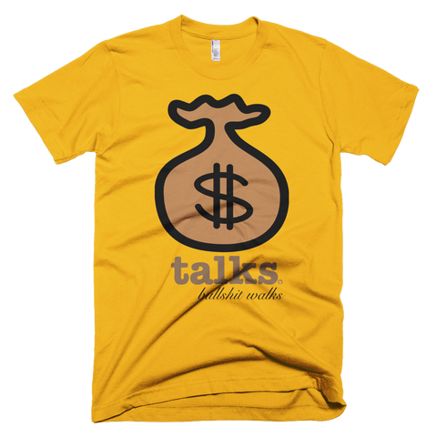 Money Talks PW2 Gold T-Shirt.