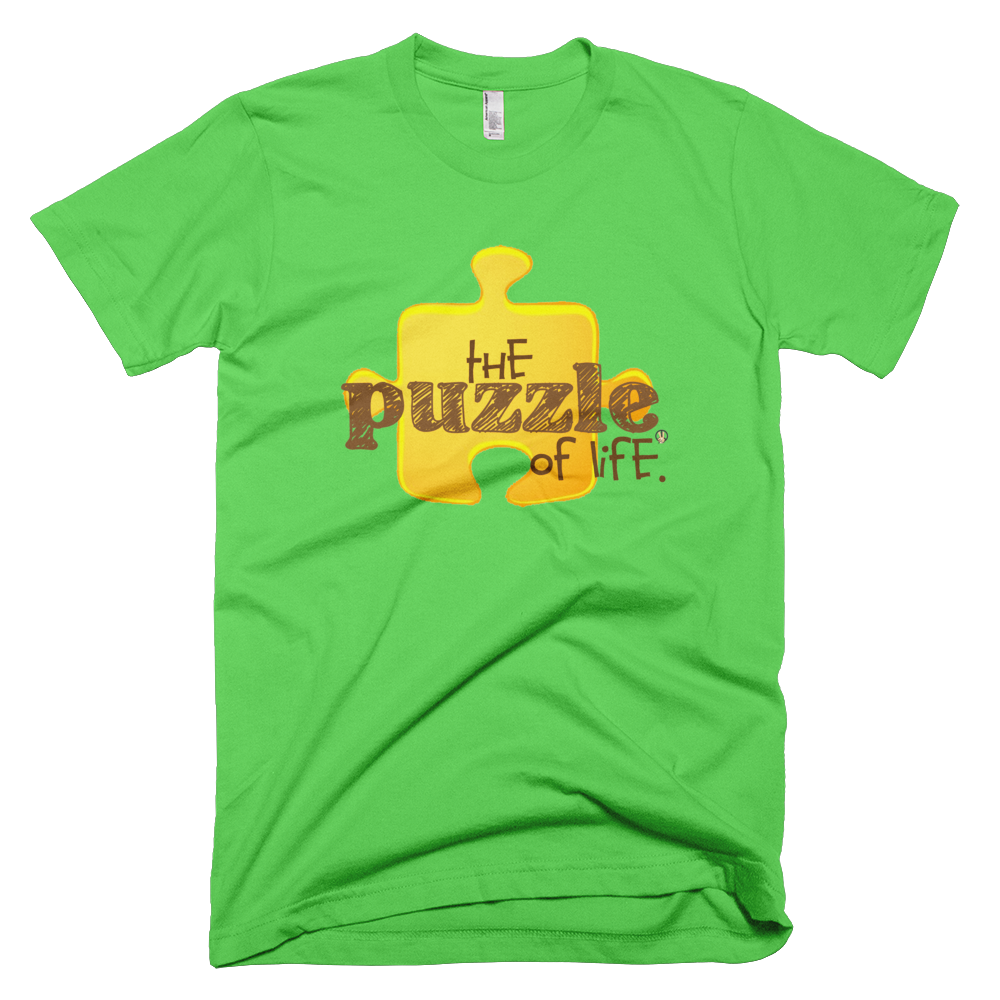 Puzzle of Life Grass Green PW2 T-Shirt.