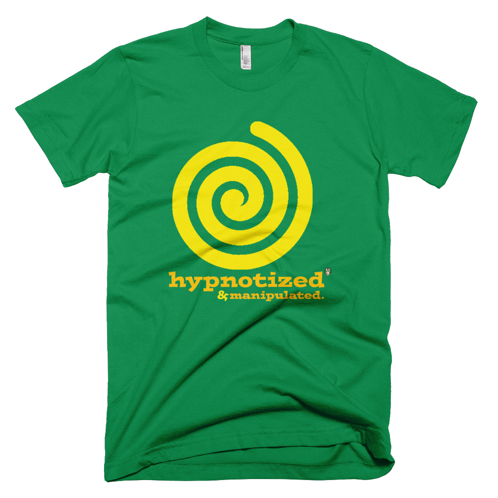 Hypnotized & Manipulated Green T-Shirt.