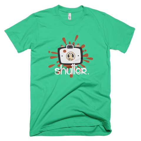 Shutter PW2 Mint Green T-Shirt.