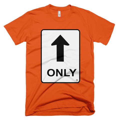 Only Up PW2 Orange T-Shirt.