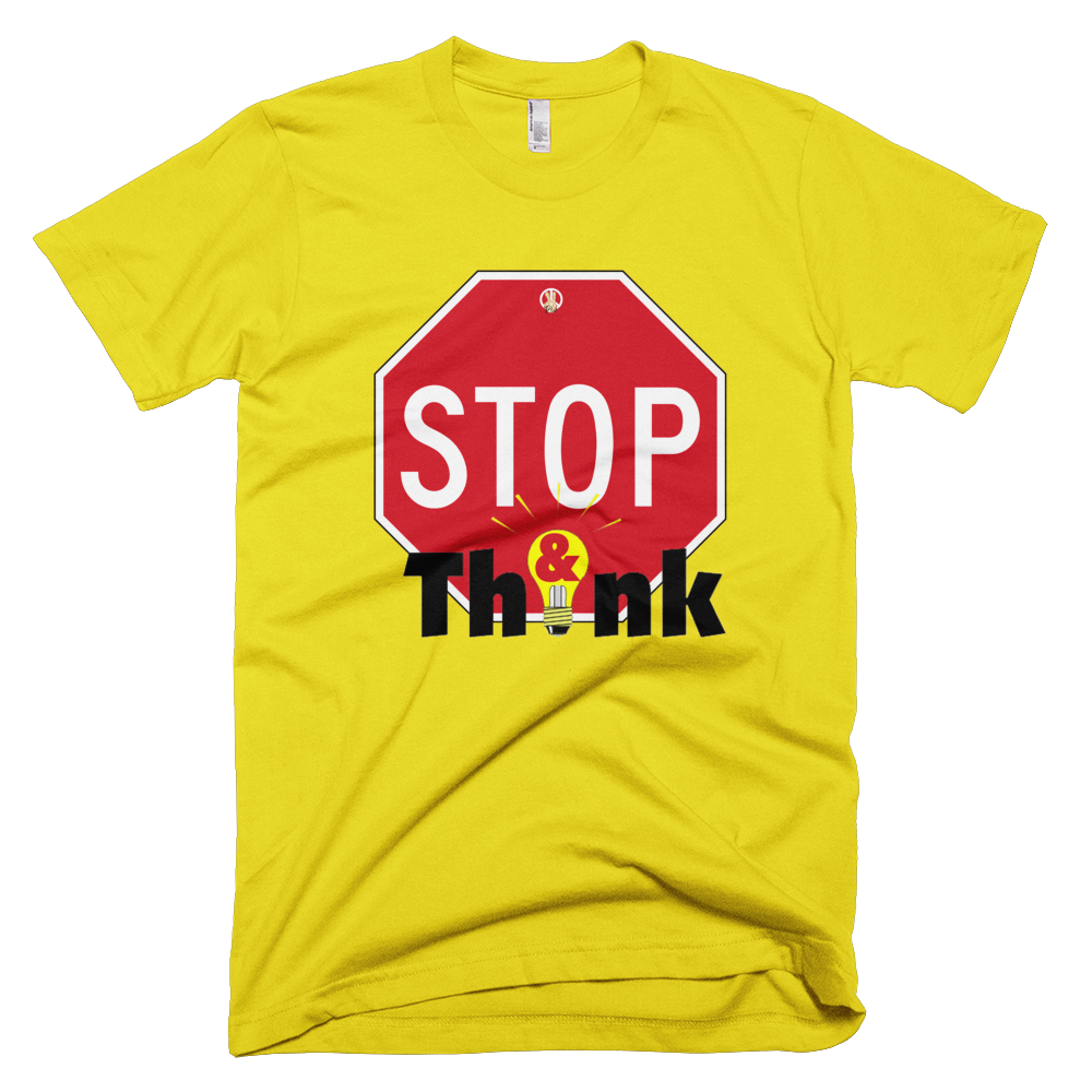 Stop & Think PW2 Yellow T-Shirt.
