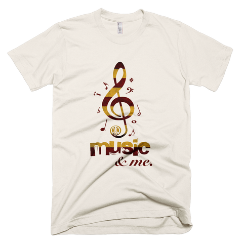 Music & Me PW2 Cream T-Shirt.