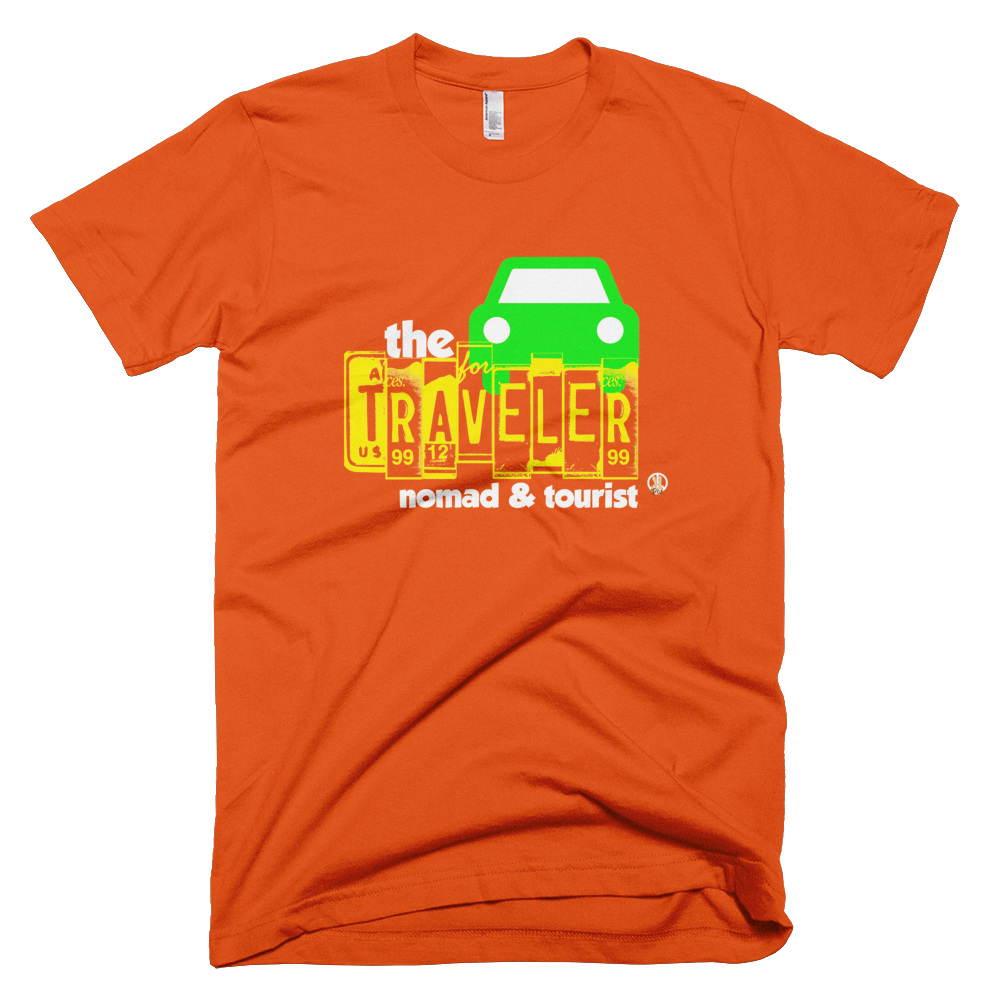 Traveler PW2 Orange T-Shirt.