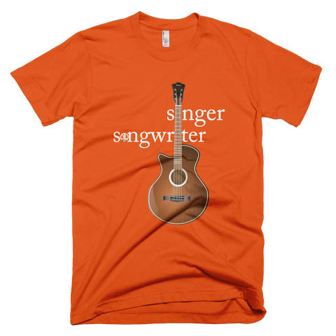 Singer Songwriter PW2 Orange T-Shirt.