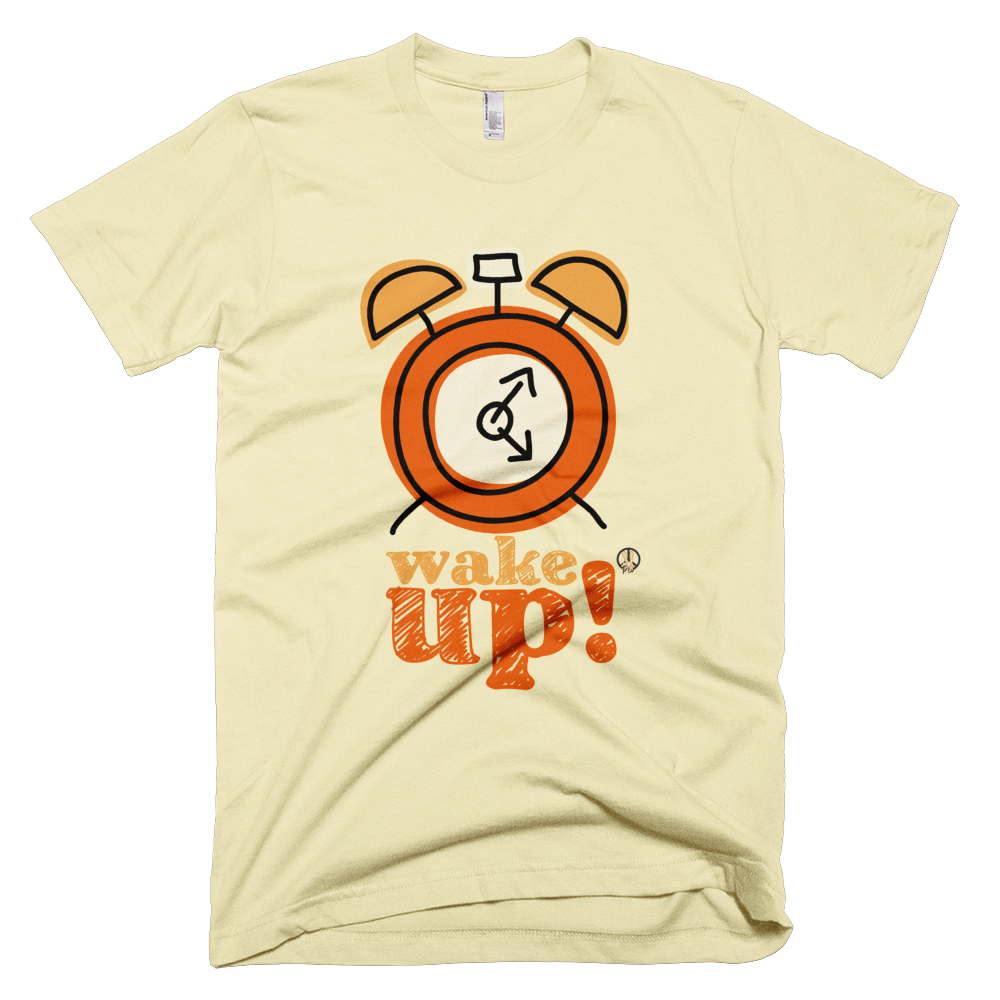 Wake Up PW2 Butter T-Shirt.