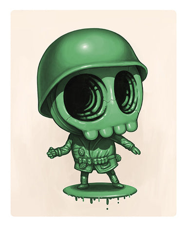 Army Man - Skully Cosplay