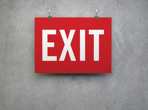 EXIT - (Small)