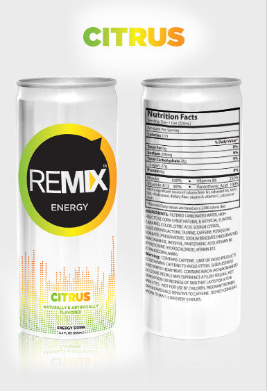 REMIX Energy - 4 Cans per Pack