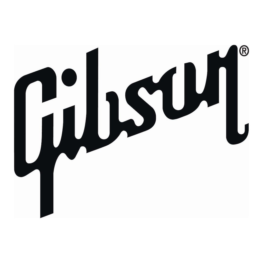 Gibson logo for Tone Shop Guitars Dallas Fort Worth TX