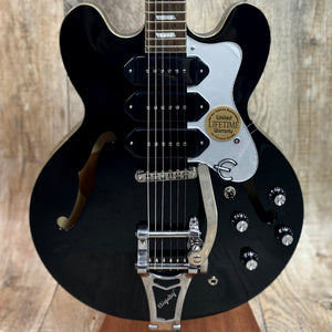Epiphone Limited Edition Riviera Custom P93b Black Royale