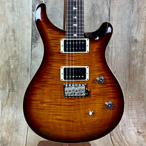 PRS Paul Reed Smith CE 24 Custom Color Amber Smokeburst  w/bag