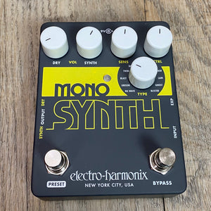 EHX Electro-Harmonix Mono Synth Guitar Synthesizer