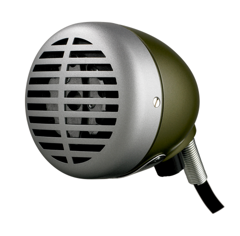 "Shure 520DX ""The Green Bullet"" Omnidirectional Dynamic"