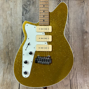 Reverend Jetstream 390 Lefty Tone Shop Exclusive Gold Sparkle RM