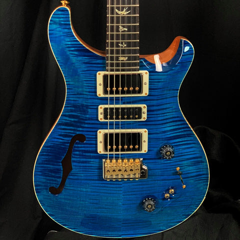 PRS Paul Reed Smith Special Semi-Hollow 10-Top Limited Edition Aquamarine w/case