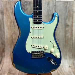 Fender Custom Shop 1960 Relic Strat Roasted Neck RW  Faded Lake Placid Blue w/case